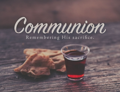 Prepare Yourself For Communion This Sunday
