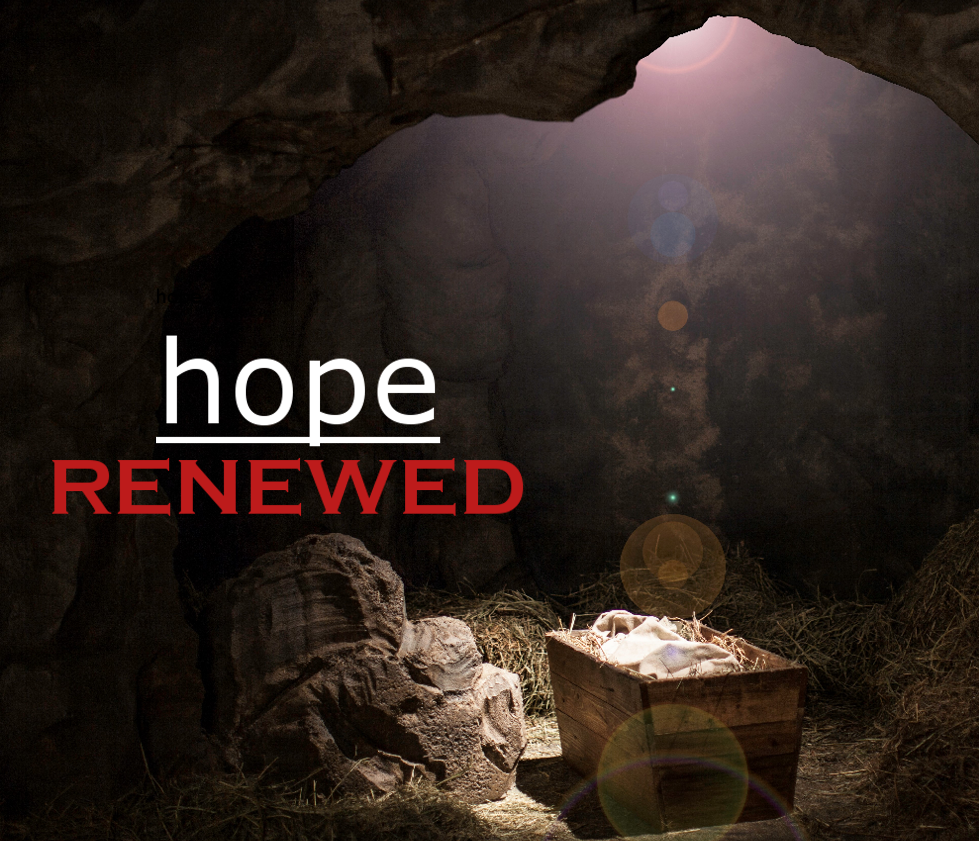 Renew Your Hope This Christmas